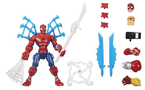 Marvel - Superhéroe mashers - Ataque de Spider-Man - Rayo Miniatura Ensamble Accesorios 1