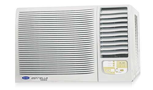Carrier 18K Estrella Premium Window AC (1.5 Ton, 5 Star Rating, White, Copper)