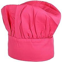 Amazon.es  gorros cocinero - Rosa e7b386d9f3d