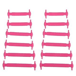 Arpoador Kinder, elastische Schnürsenkel aus Silikon-Schnürsenkel-Set, rose