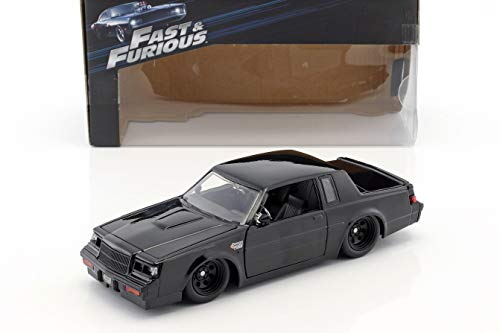 Dom's Buick Grand National Baujahr 1987 Film Fast und Furious (2009) schwarz 1:24 Jada Toys