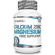 Biotech USA Calcium Zinc Magnesium, Vitaminas y Minerales - 1000 gr