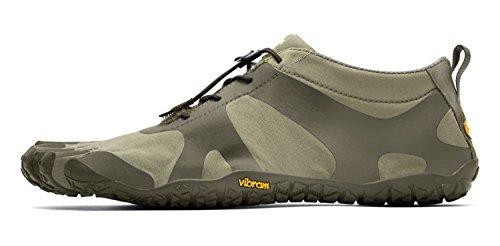 Vibram FiveFingers en V Alpha Women + chaussette orteils–Set –-orteils Chaussures Randonnée/bar Chaussures pieds femme avec gratuit Chaussettes Orteils Sand/Khaki