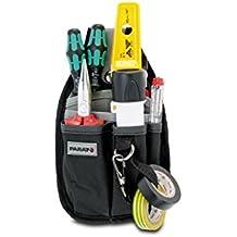 Parat 5990.816-999 - Bolsa portaherramientas para cinturón (tamaño pequeño), color gris y negro
