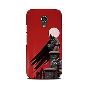 Moto G2 Designer Printed Case & Covers (Moto G2 Back Cover) - Superhero Batman