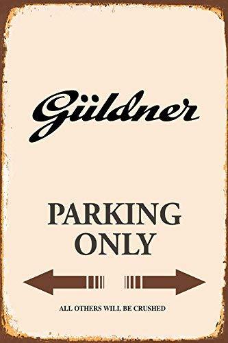 PNFD Warning Trabant Parking Only Parkschild Blechschild aus Blech Garage, A178, 7.8inch*11.8inch