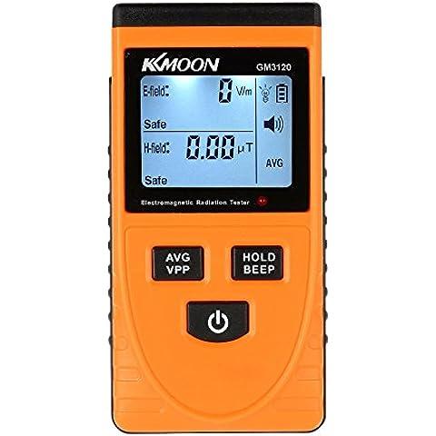 KKmoon LCD Rivelatore di Radiazione Elettromagnetica Digitale Metro Dosimetro Tester