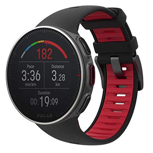 Polar Vantage V TI - Reloj Premium con GPS y Frecuencia Cardíaca. Caja de Titanio. Multideporte y perfil de triatlón - Potencia de running