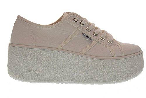Victoria Scarpe Donna Sneakers zeppone 102100 Bianco