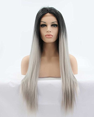 secrect-armoire-long-silky-straight-ombre-lace-front-synthetic-wigs