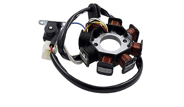 QM50QT-10 QM50QT-6 V-Click 2EXTREME Lichtmaschine einzeln Version 1 f/ür JINAN QINGQI QM50QT-2