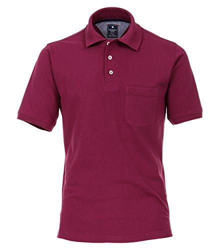 Redmond Pique Polo Shirt Lila, Größe:XL - Lila Baumwoll-piqué