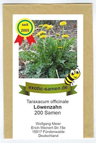 Löwenzahn - Taraxacum officinale - Salat- u. Heilpflanze - Bienweide - Sorte Nouvelle - 200 Samen