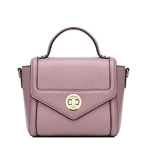 Z&N Europa und die Vereinigten Staaten Mode Leder Handtaschen Handtaschen Umhängetaschen Umschläge Kartentaschen Geldbörsen passend für alle Anlässe Freizeit Unterhaltung purple
