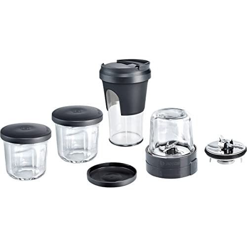 41N5MkPMNnL. SS500  - Bosch MUZ45XTM1 Tasty Moments Accessory Kit for Kitchen Machines, Stainless Steel