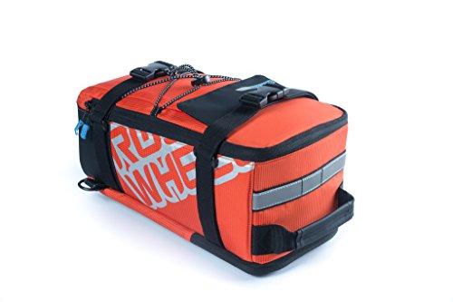 Tofern Gepäckträgertaschen Fahrradtasche Sling bag 5L Orange