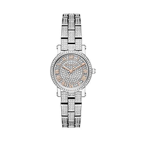 Michael Kors Women's Petite Norie Silver Crystal One Size