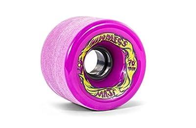 Mindless Voodoo Longboard Wheel Set (4 Rollen) Maji Purple 70mm / 81A - Cruiser Skateboard Rollen - Wheels