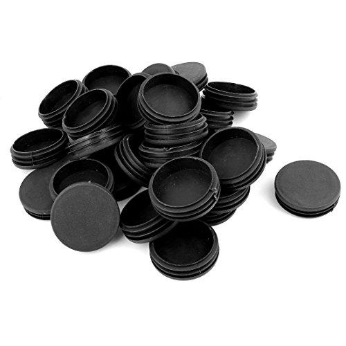 sourcingmapr-20-x-nero-plastica-sbiancante-fine-coperchi-inserti-spina-tappo-tondo-tubo-inserto-63mm