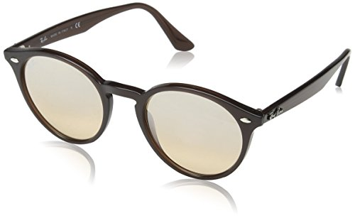 Ray-Ban Unisex Sonnenbrille Mod. 2180, (Gestell, Gläser: braun verspiegelt, Silber Gradient 62313D), Medium (Herstellergröße: 51)