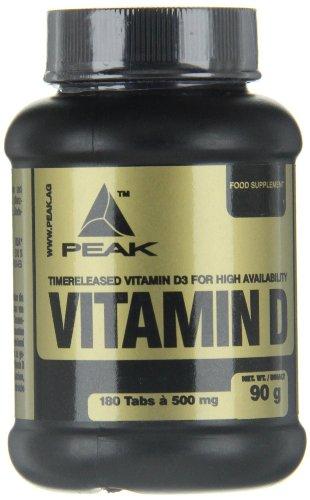 #Peak Vitamin D, 180 Tabletten, 1-er Pack (1 x 90 g)#