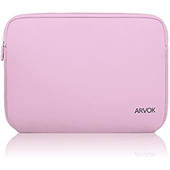 c927bd46d0 ARVOK 11 11.6 12 Housse de Protection Ordinateur Portable en Néoprène  Pochette Sacoche pour Chromebook Ultrabook