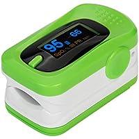 Preisvergleich für Fingerspitzen-Pulsoximeter-Blutdruck-Arterien-Bluthochdruck-Herz-Schlag-Meter(Grün)