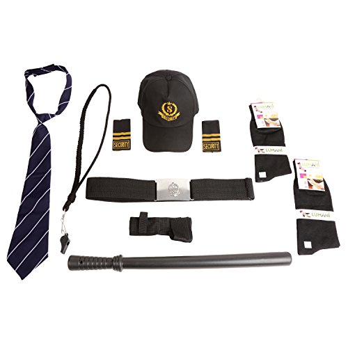 FABUNIFORMS Security Guard Accessories Full Set (Blue)