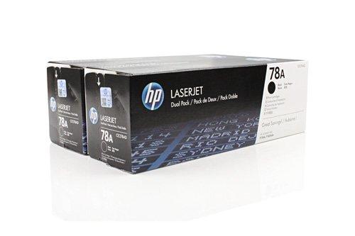 Original Toner passend für HP LaserJet Professional P 1566 HP 78A CE278AD - 2x Premium Drucker-Kartusche - Schwarz - 2x2.100 Seiten