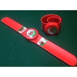 Wales Welsh Flag Snap Band Watch