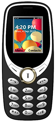 I KALL K31 Dual Sim 1.8 Inch Display Basic Feature Mobile Phone With Bluetooth, GPRS, FM Radios, Flash Light And 800 Mah Battery Capacity- Black