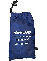 Northland Professional 020031000 - Protector de lluvia para mochila, color azul, talla M / 35-55 l