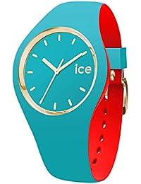 Ice-Watch - ICE loulou Bahamas - Montre turquoise pour femme avec bracelet en silicone - 007232 (Small)