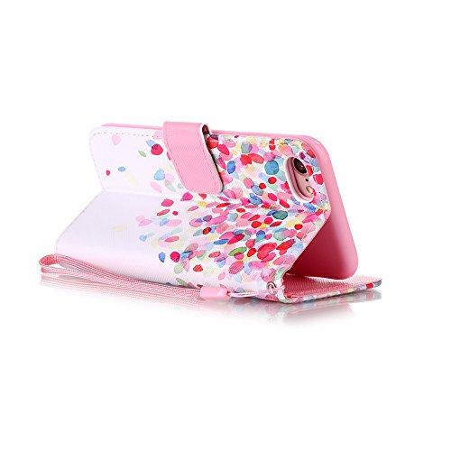 XFAY HX439【Eine Vielzahl von Mustern 】iPhone 7plus Handyhülle Case für iPhone 7plus Hülle im Bookstyle, PU Leder Flip Wallet Case Cover Schutzhülle für Apple iPhone 7plus(5.5 Zoll) Schale Handyhülle C Farbe-10