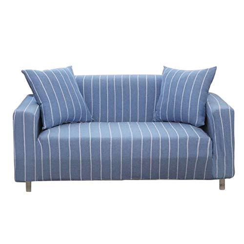 Sqinaa cotone,fodera per divano a righe protettore di animali domestici bambini divano letto cuscino per 1 pezzo morbido divano copre-g