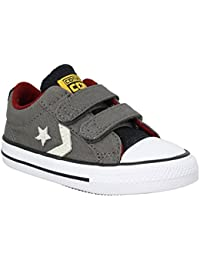 Converse Star Player 2v Ox Infants Zapatillas Gris
