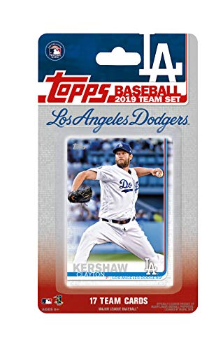 Los Angeles Dodgers 2019 Topps Factory Sealed Special Edition 17 Karten Team Set mit Clayton Kershaw und Cody Bellinger Plus - Topps Baseball-karten