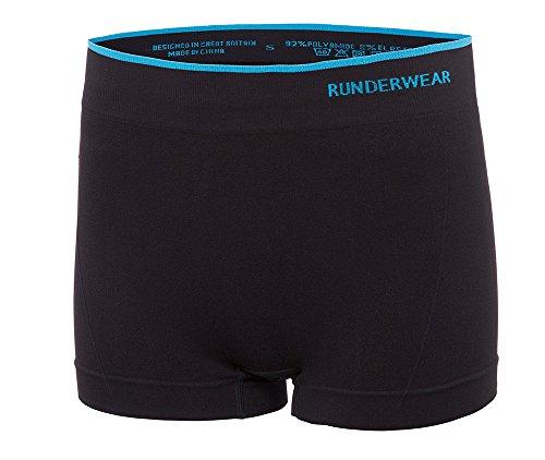 Runderwear Fitness Hotpants für Damen  - Ideal als Funktionsunterwäsche oder Oberbekleidung - Schnelltrocknend und Hautfreundlich (Cotton-shorts-tanzen)
