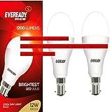 Eveready 12W Plastic Led Bulb(White,Pack Of 2)