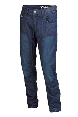 Preisvergleich Produktbild bull-it Herren Italienisches Slim Fit SR6blau Motorrad Hose (UK lang W30)