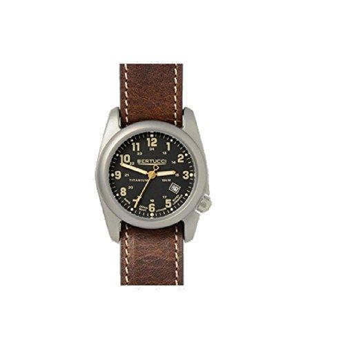 BERTUCCI 13350 sportivo da uomo, in Nylon, colore: nero, stile orologio da uomo