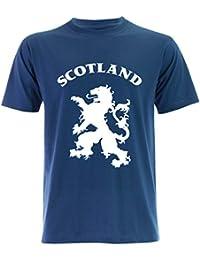 PALLAS Unisex's Lion Rampant Scotland T-Shirt
