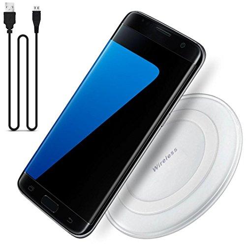 Ouneed® Wireless Ladegerät Ladestation Dock für Samsung Galaxy S7 / S7 Edge,Tischladestation, Dock für Handy (Weiß)