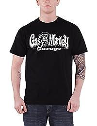 f3f80086747f1 Gas Monkey Garage T Shirt GMG Dallas Texas Official Mens Black