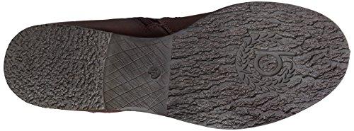 Bugatti V37371X Damen Biker Boots Rot (burgund 329)
