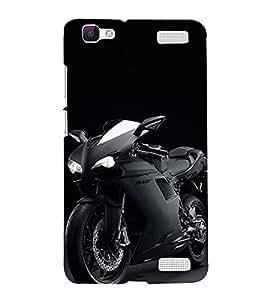 Print Masti Designer Back Case Cover for Vivo V1 Max (Sport Bike Road Raceing)