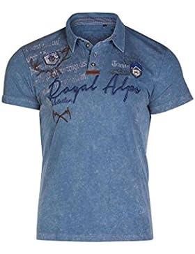 Michaelax-Fashion-Trade Marjo - Herren Trachten T-Shirt, Dirk (631500-020022)