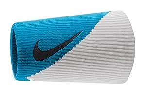 Nike Roger Federer 2015 Australian ouverture logo Nike Pro Dri-Fit Manchettes de Tennis-Bleu/noir/blanc
