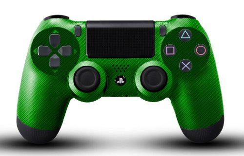 Custom PS4 Dualshock 4 Controller - Green Carbon ...