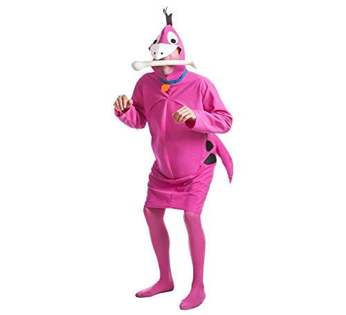 Dino-Feuerstein-Kostüm für Erwachsene - Dino Aus Familie Feuerstein Kostüm